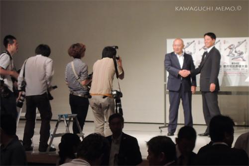 藤田監督と堀井監督